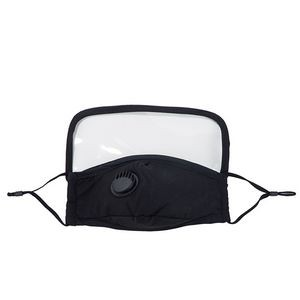 3 Layers Face Mask With Eye Shield And Valve